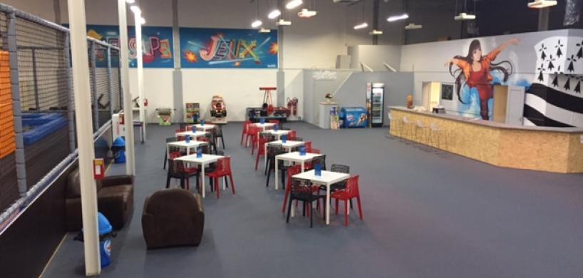 breizh jump park quimper finistere indoor